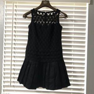 BRAND NEW Polka Dot Sheer Little Black Dress